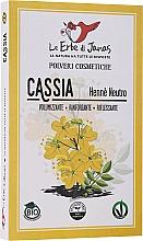 """Voňavky, Parfémy, kozmetika Prášok na vlasy """"Voňavá škorica"""" - Le Erbe di Janas Cassia (Neutral Henna)"""