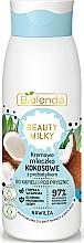 Voňavky, Parfémy, kozmetika Kúpeľové a sprchové mlieko - Bielenda Beauty Milky Moisturizing Coconut Shower & Bath Milk
