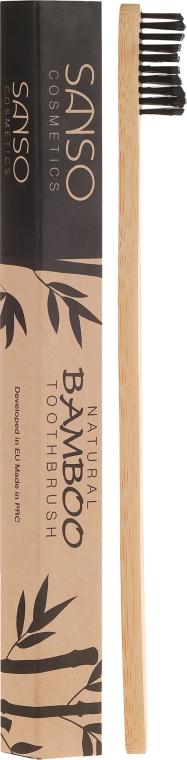 Bambusová zubná kefka - Sanso Cosmetics Natural Bamboo Toothbrushes