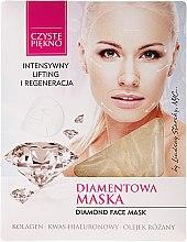 """Voňavky, Parfémy, kozmetika Tvárová maska """"Brilliant"""" - Czyste Piekno Diamond Face Mask"""