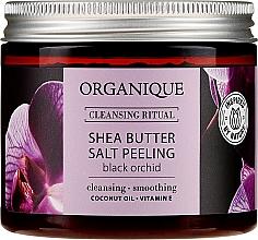 "Voňavky, Parfémy, kozmetika Soľný peeling ""Čierna orchidea"" - Organique Shea Butter Salt Peeling Black Orchid"