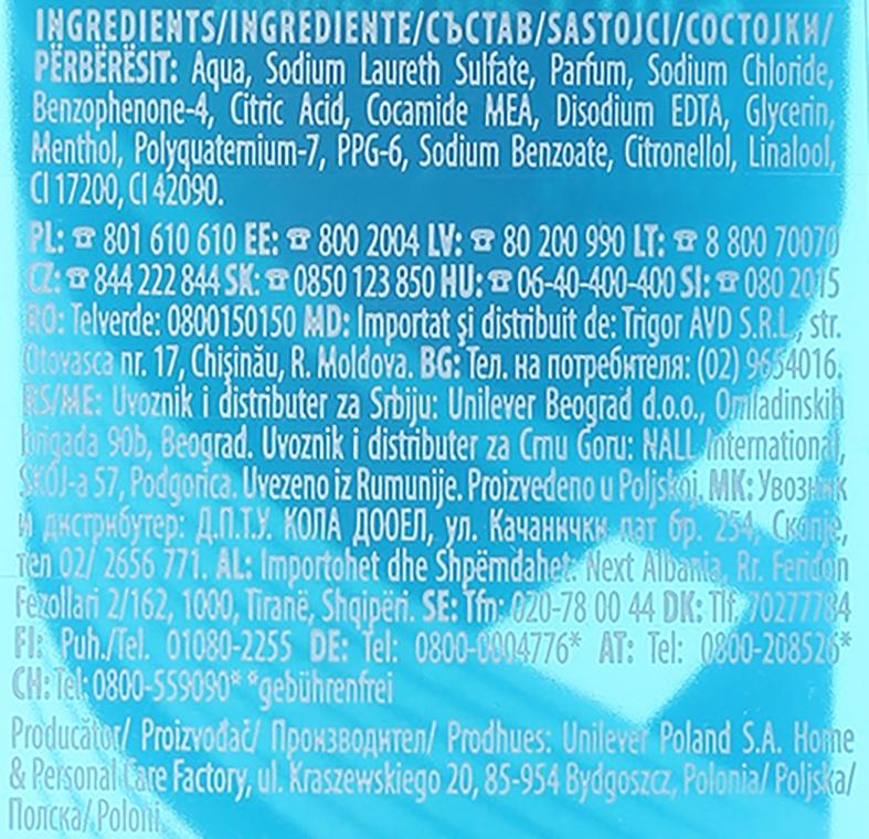 Šampónový sprchový gél 2v1 - Rexona Men Cobalt Shower Gel Body & Hair — Obrázky N3