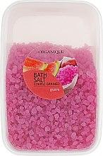 """Voňavky, Parfémy, kozmetika Kúpeľová soľ, veľké granule """"Guava"""" - Organique Bath Salt Dead Sea"""