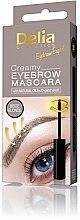 Voňavky, Parfémy, kozmetika Krémová maskara na obočie - Delia Creamy Eyebrow Mascara