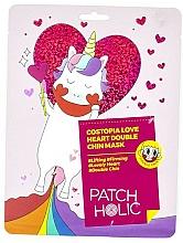 Voňavky, Parfémy, kozmetika Spevňujúca maska pre oblasť brady - Patch Holic Costopia Love Heart Double Chin Mask