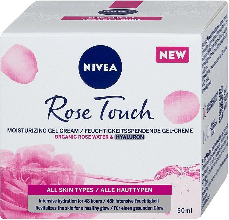 Hydratačný gélový krém - Nivea Rose Touch