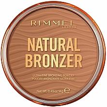 Voňavky, Parfémy, kozmetika Bronzovací púder - Rimmel Natural Bronzer Waterproof Powder