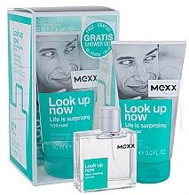 Voňavky, Parfémy, kozmetika Mexx Look Up Now for Him - Sada (edt 50ml + sh/gel 150ml)