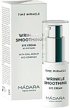 Voňavky, Parfémy, kozmetika Krém na očné okolie - Madara Cosmetics Time Miracle Wrinkle Smoothing Eye Cream
