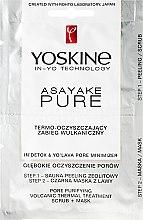 Voňavky, Parfémy, kozmetika Čistiaca sopečná tepelná starostlivosť - Yoskine Asayake Pure Pore Purifying Volcanic Thermal Treatment