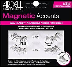 Voňavky, Parfémy, kozmetika Falošné riasy - Ardell Magnetic Lashes Accents 001