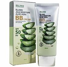 Voňavky, Parfémy, kozmetika BB krém s extraktom s aloe - Blumei Jeju Moisture Aloe Vera BB Cream
