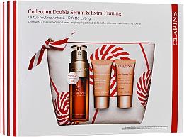 Voňavky, Parfémy, kozmetika Sada - Clarins Double Serum & Extra-Firming Set (serum/30ml + cr/15ml + cr/15ml + bag)