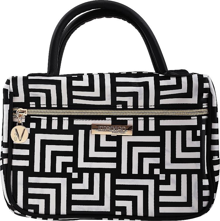 Kozmetická taška a organizér Class, s rúčkami, strednej veľkosti - Inter-Vion