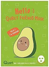 Voňavky, Parfémy, kozmetika Maska na tvár s avokádovým extraktom - Quret Hello Avocado Friends Mask