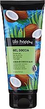 """Voňavky, Parfémy, kozmetika Sprchový gél """"Kokosová voda a aloe"""" - Bio Happy Shower Gel Coconut Water And Aloe"""