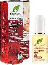 """Voňavky, Parfémy, kozmetika Sérum pre tvár """"Ruža"""" - Dr. Organic Rose Facial Serum"""