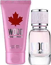 Voňavky, Parfémy, kozmetika Dsquared2 Wood Pour Femme - Sada (edt/30ml + b/lot/50ml)