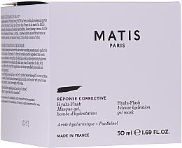 Voňavky, Parfémy, kozmetika Intenzívne hydratačná gélová maska na tvár - Matis Reponse Corrective Hyalu-Flash Intense Hydration Gel Mask