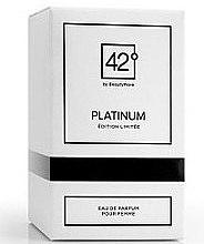 Voňavky, Parfémy, kozmetika 42° by Beauty More Platinum Edition Limitee Pour Femme - Parfumovaná voda