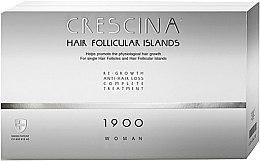 Voňavky, Parfémy, kozmetika Komplex proti vypadávaniu vlasov pre žien 1900 - Labo Crescina Hair Follicular Island Re-Growth Anti-Hair Loss Complete Treatment 1900 Woman