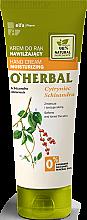 Voňavky, Parfémy, kozmetika Hydratačný krém na ruky s extraktom citrónovej trávy - O'Herbal Moisturizing Hand Cream With Schisandra Extract