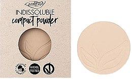 Voňavky, Parfémy, kozmetika Kompaktný púder na tvár - PuroBio Cosmetics Compact Powder (vymeniteľná jednotka)