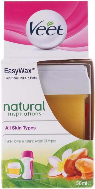 Kazeta s voskom - Veet Easy Wax Natural Inspirations