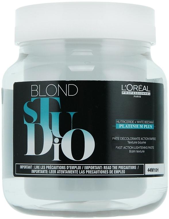 Bezfarbená pasta - L'Oreal Professionnel Blond Studio Platinium Plus