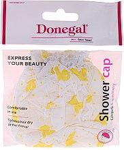Voňavky, Parfémy, kozmetika Sprchová čiapka, 9298, žlté vzory - Donegal