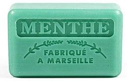 "Voňavky, Parfémy, kozmetika Marselské mydlo ""Mäta"" - Foufour Savonnette Marseillaise Menthe"
