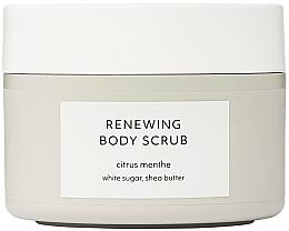 Voňavky, Parfémy, kozmetika Obnovujúci scrub na telo - Estelle & Thild Citrus Menthe Renewing Body Scrub