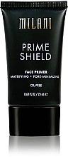 Voňavky, Parfémy, kozmetika Základný náter na matovanie - Milani Prime Shield Face Primer Mattifying + Pore-minimizing