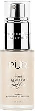 Voňavky, Parfémy, kozmetika Make-up - Pur 4-in-1 Love Your Selfie Longwear Foundation & Concealer