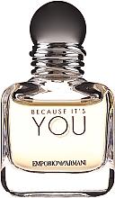 Voňavky, Parfémy, kozmetika Giorgio Armani Because It's You - Parfumovaná voda (mini)