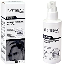 Voňavky, Parfémy, kozmetika Sérum proti vypadávaniu vlasov - Biotebal Men Serum