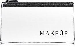 """Voňavky, Parfémy, kozmetika Kozmetická taška priehľadná Flat Glow"""" 20x10 cm - MakeUp"""