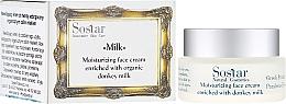 Voňavky, Parfémy, kozmetika Hydratačný krém na tvár - Sostar Moisturizing Face Cream Enriched With Donkey Milk