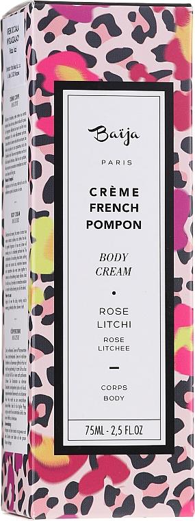 """Krém na telo """"Ruža a liči"""" - Baija French Pompon Rose Litchi Body Cream — Obrázky N4"""