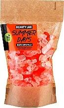 Voňavky, Parfémy, kozmetika kryštály do kúpeľa s olejom z pomarančovej šupky - Beauty Jar Summer Days Energizing Bath Crystals with Orange Peel Oil