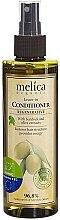 Voňavky, Parfémy, kozmetika Bezoplachový regeneračný kondicionér na vlasy s extraktmi z lopúcha a olív - Melica Organic Leave-in Regenerative Conditioner