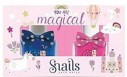 Voňavky, Parfémy, kozmetika Sada lakov na nechty - Snails Goes Happy You Are Magical