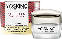 Voňavky, Parfémy, kozmetika Multiliftingový krém proti vráskam - Yoskine Geisha Gold Secret Anti-Wrinkle & Multi-Lift 3D Cream