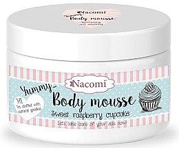"""Voňavky, Parfémy, kozmetika Telová pena """"Sladká malinová torta"""" - Nacomi Body Mousse"""