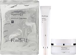 Voňavky, Parfémy, kozmetika Sada - ForLLe'd Platinum (cr/50g + eye/cr/9g + mask/2pcs)
