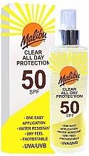 Voňavky, Parfémy, kozmetika Sprej na opaľovanie - Malibu Clear All Day Protection SPF 50