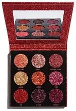 Voňavky, Parfémy, kozmetika Paleta glitterov - Makeup Revolution Pressed Glitter Palette Hot Pursuit