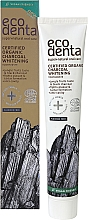 Voňavky, Parfémy, kozmetika Organická čierna bieliaca zubná pasta - Ecodenta Certified Cosmos Organic Black Whitening Toothpaste