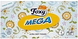 Voňavky, Parfémy, kozmetika Ultra mäkké obrúsky - Foxy Mega Ultra Soft Wipes