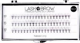 Voňavky, Parfémy, kozmetika Falošné riasy - Lash Brown Premium Flare Silk Lashes Natural Long